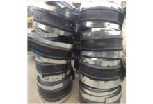 供应 钢边橡胶止水带  CB300*6钢边橡胶止水带价格 瑞