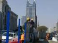 中铁三局呼市地铁项目人民会堂站实现永久性围挡施工